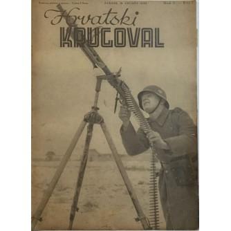 HRVATSKI KRUGOVAL 1942. BROJ 7